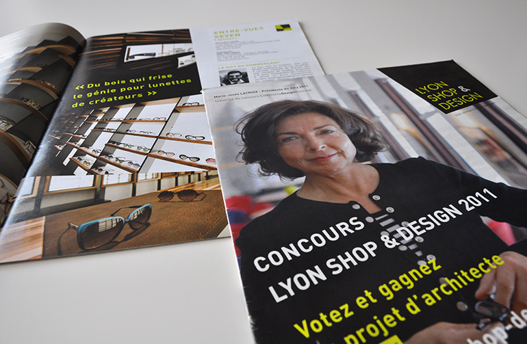 Magazine Lyon Shop Design