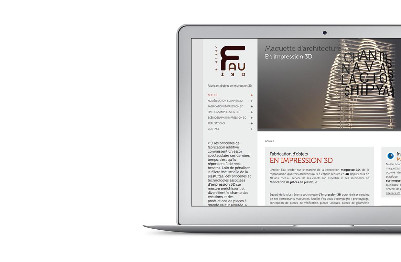 Site Web Fau i3D