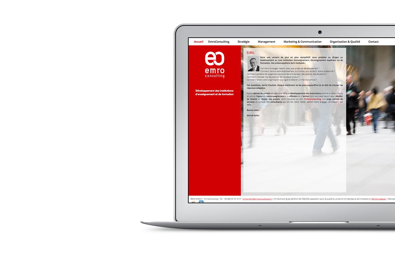 Site web Emro Consulting