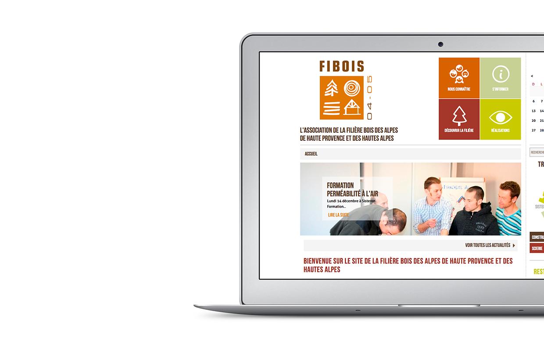Site web Fédération Fibois
