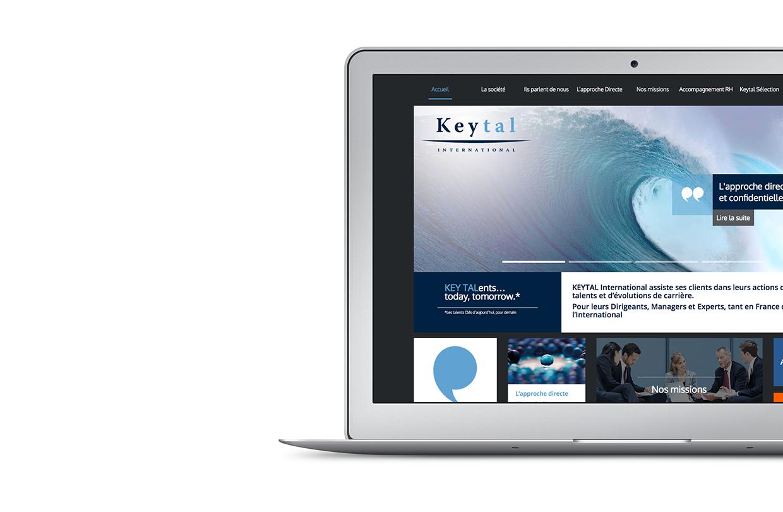 Site web Keytal International