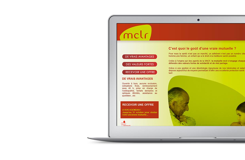 Site web Mutuelle MCLR