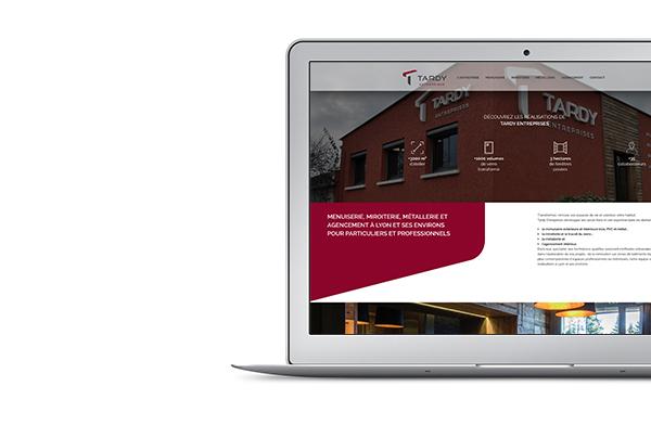 Site web Tardy Entreprises