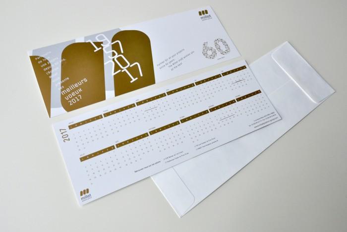 Création carte de vœux Lyon