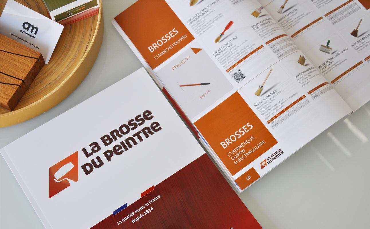Catalogue La Brosse du Peintre