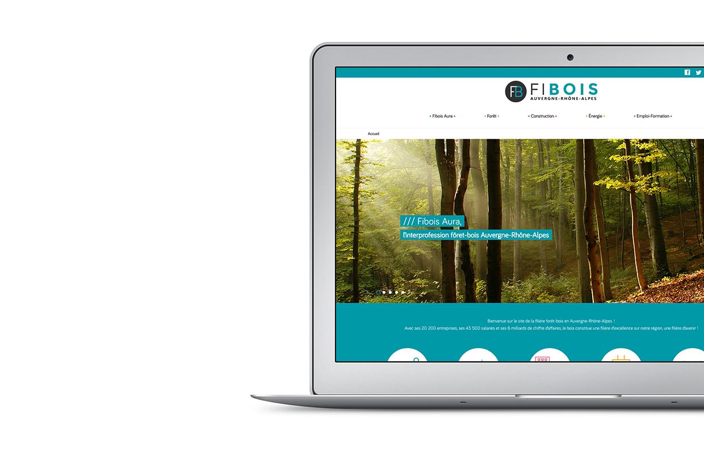 Site web Fibois Aura