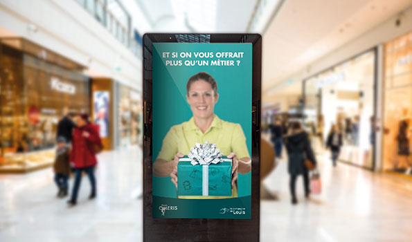 Location Totem Video Lyon Commerce